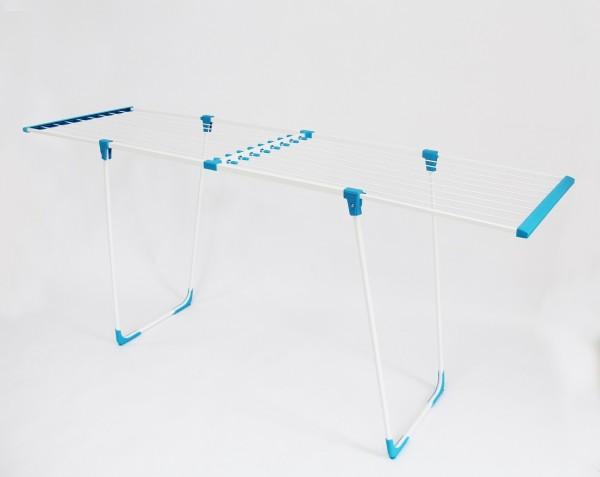 EASYFLEX Wäscheständer Wäschetrockner 20m extra hoch - blau