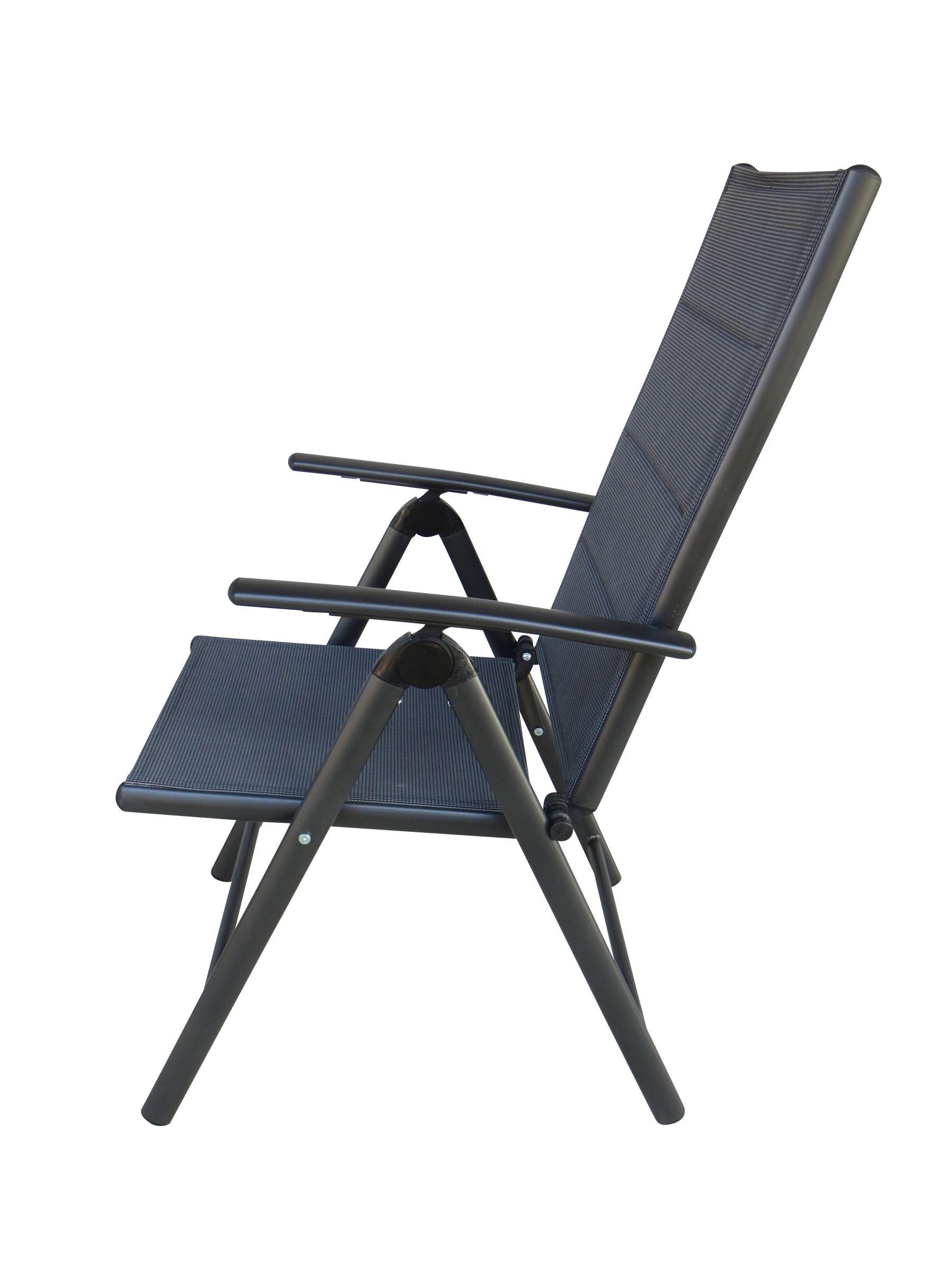 jay alu gartenm bel set sitzgarnitur 7tlg anthrazit. Black Bedroom Furniture Sets. Home Design Ideas