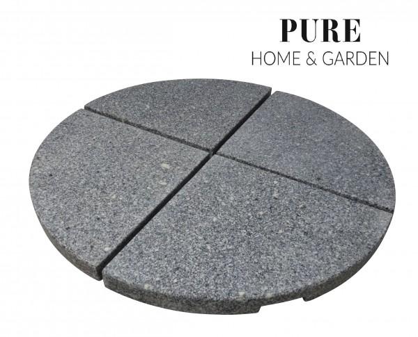STOUT 4er-Set Granit Beschwerer Gewichte für Schirmständer