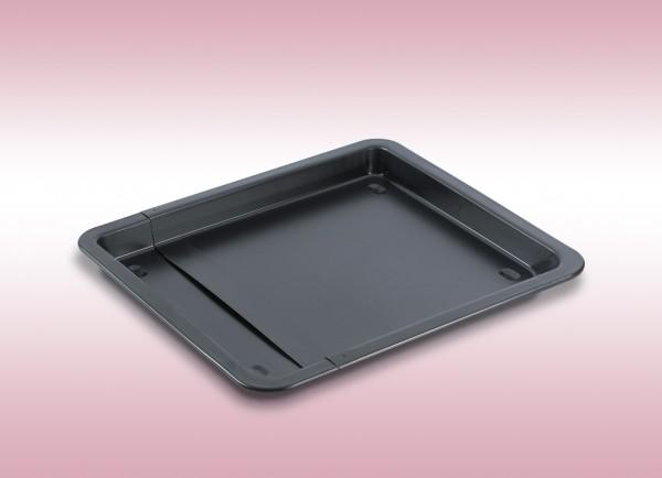 Backblech 33-52x3cm Pizzablech verstellbar