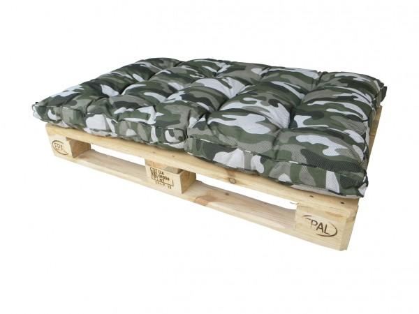 Palettenkissen Loungekissen für Lounge 120x80cm camouflage