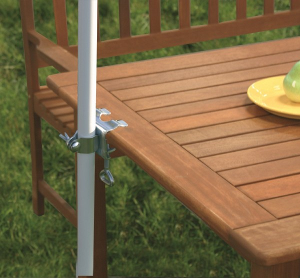 Tischklammer Schirmhalter Halterung für Sonnenschirme 450649