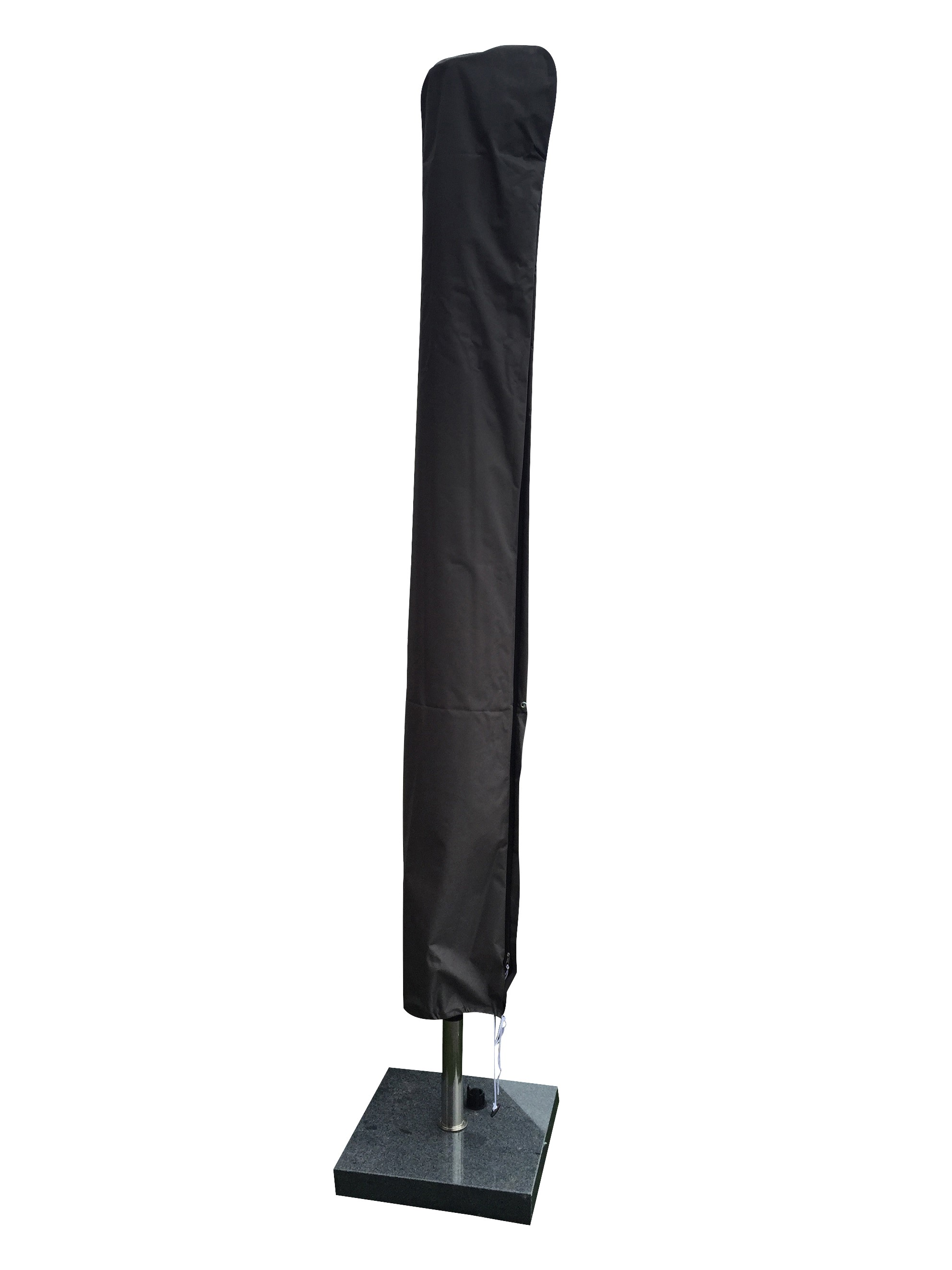 schutzh lle mit stab f r mittelmast sonnenschirme 250 400cm 1 grau schutzh llen. Black Bedroom Furniture Sets. Home Design Ideas