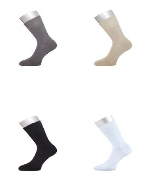 6 Paar Socken - antibakterielle Strümpfe aus Bambus
