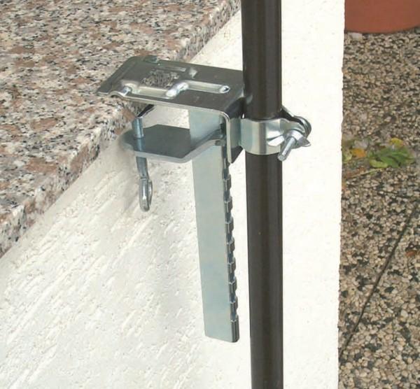 Balkonklammer Balkon Schirmhalter für Sonnenschirme - 450650
