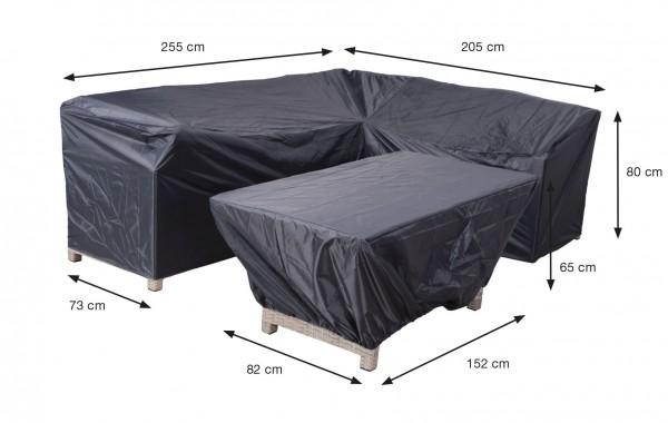 70852 Schutzhülle für Gartenmöbel Lounge Guppen 255x205x80cm ( Blakes rechts )