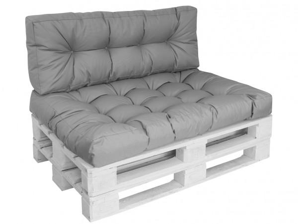 Set Palettenkissen Outdoor Loungekissen Lounge 120x80cm (KP)