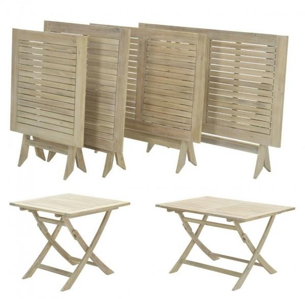 Kent Klapptisch Gartentisch Balkontisch aus Akazienholz