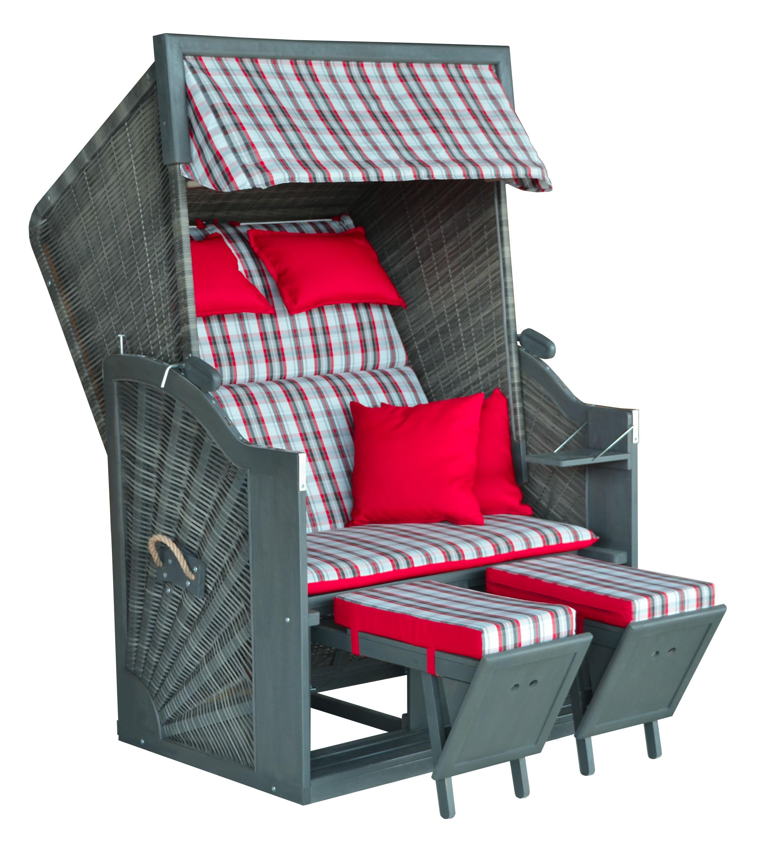 greenline 120 luxus strandkorb b118xt80xh155cm. Black Bedroom Furniture Sets. Home Design Ideas