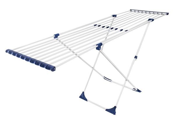CASAFLEX X-LEGS Wäscheständer mit Rollen, Wäschetrockner 20m