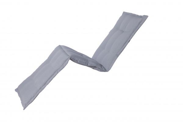A046 Relaxliegenauflage Relaxsessel 170x50x8cm grau uni