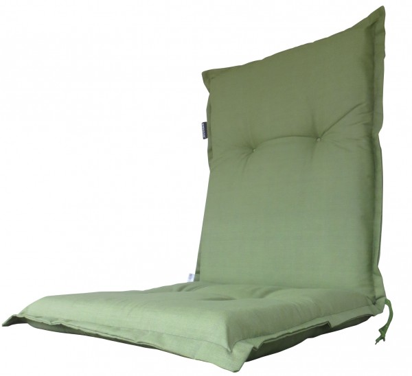 A044 Niederlehner Gartenstuhl Auflagen 105x50x8cm grün uni