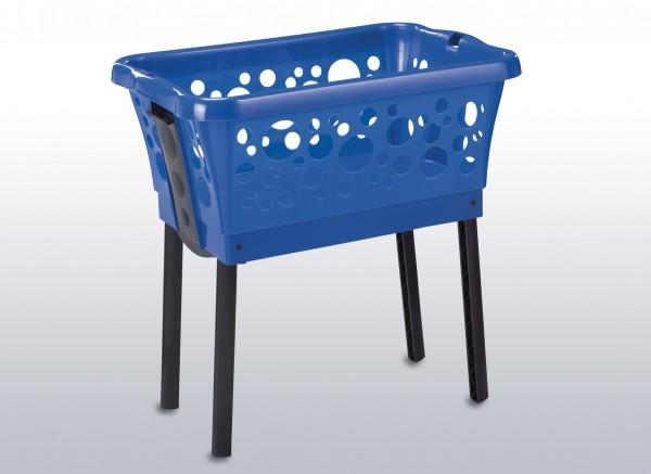 Wäschekorb 65x44x30cm blau