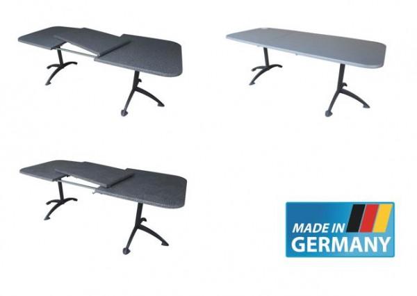 PURE Gartentisch Ausziehtisch 155/210x90cm klappbar