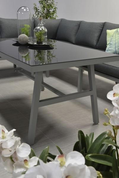 GLASPLATTE vom Tisch der Blakes Ecklounge in anthrazit