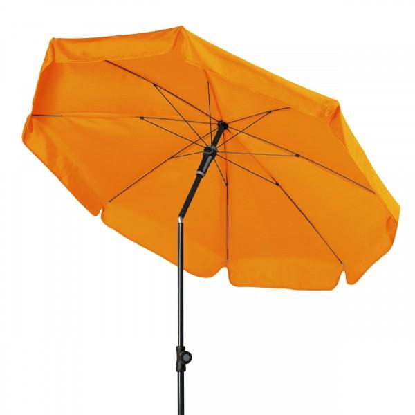 SUNLINE III Gartenschirm knickbarer Sonnenschirm orange
