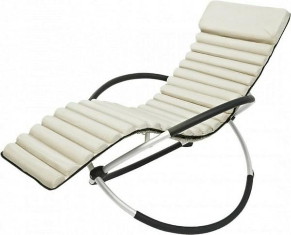 Schaukelstuhl Auflage Relaxliegenauflage Relax natur 39398103