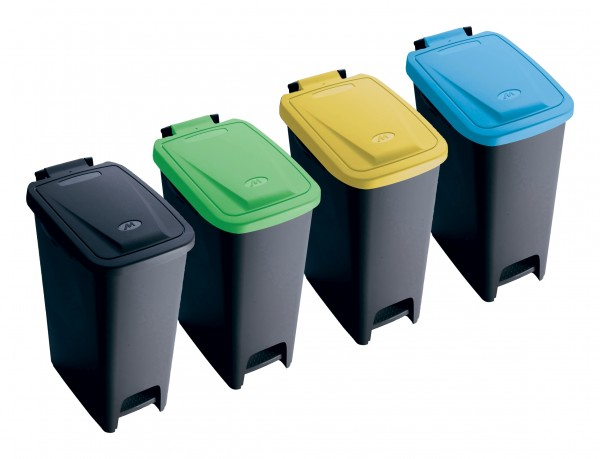 ECO BIN Treteimer Mülleimer Abfalleimer Abfallsammler 27 Liter