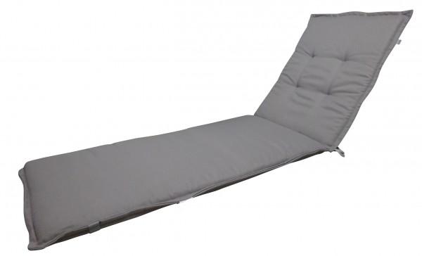 8027 Rollliegenauflage Gartenliege Auflage 200x60x6cm grau