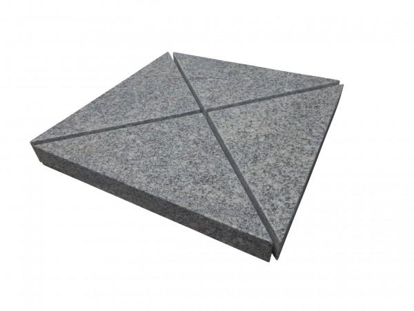 4er-Set Granit Beschwerer Gewichte für Schirmständer (GD)