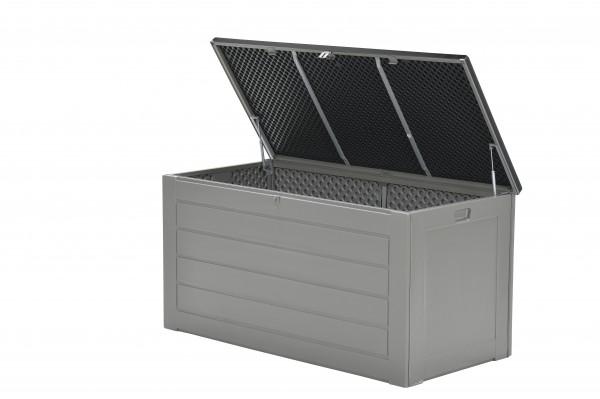JERSEY Auflagenbox Kissenbox Aufbewahrungsbox grau 680L