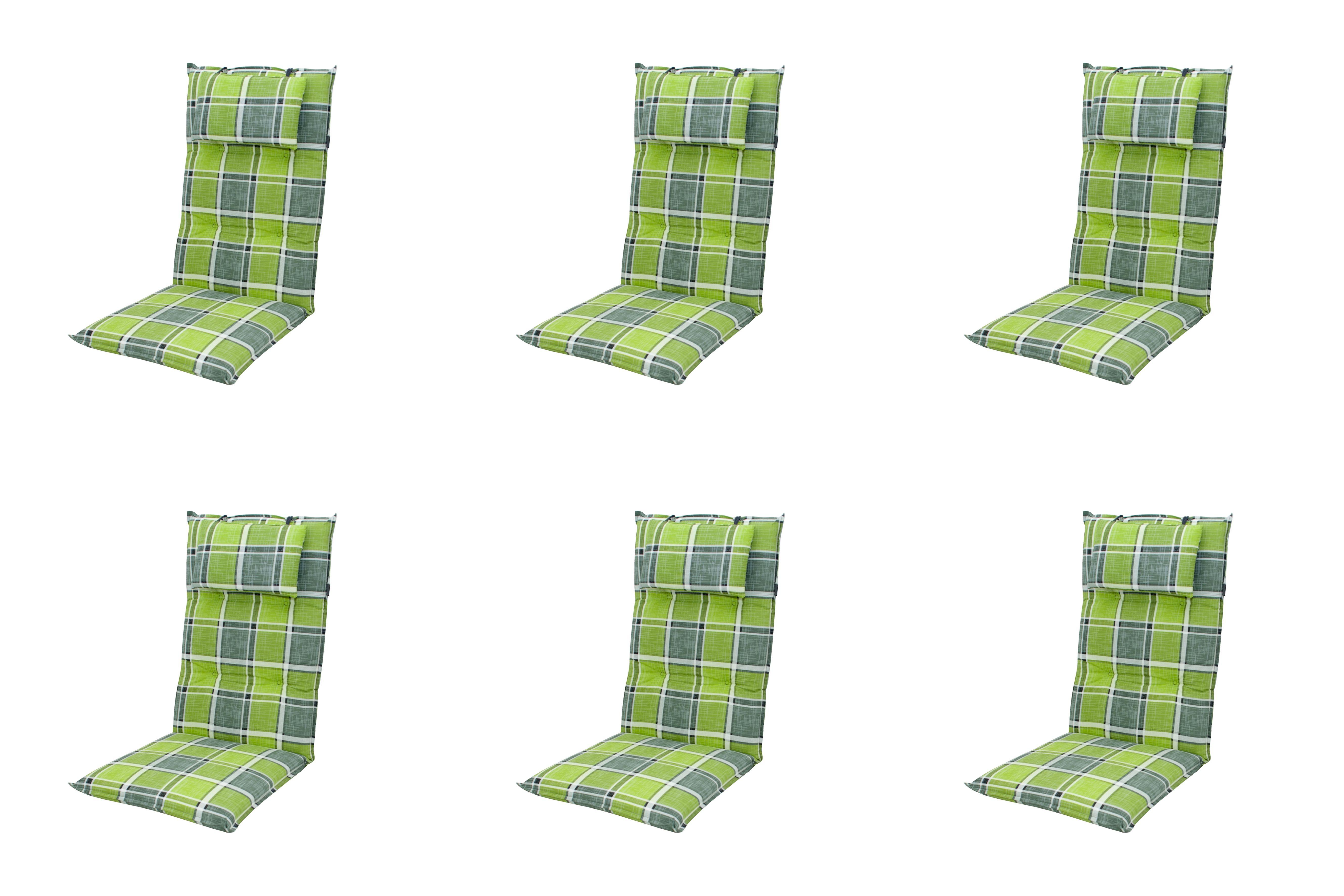 6x 5911 hochlehner gartenstuhl auflagen 8cm kopfkissen. Black Bedroom Furniture Sets. Home Design Ideas