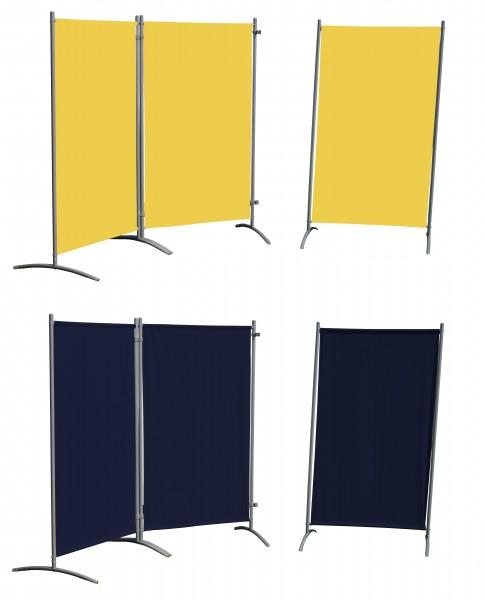 STELLWAND 3er-Set Sichtschutz Trennwand Windschutz 260cm