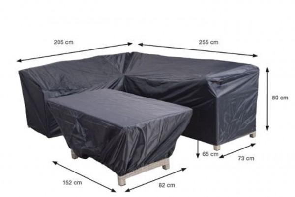 70850 Schutzhülle für Gartenmöbel Lounge Guppen 255x205x80cm ( Blakes links )