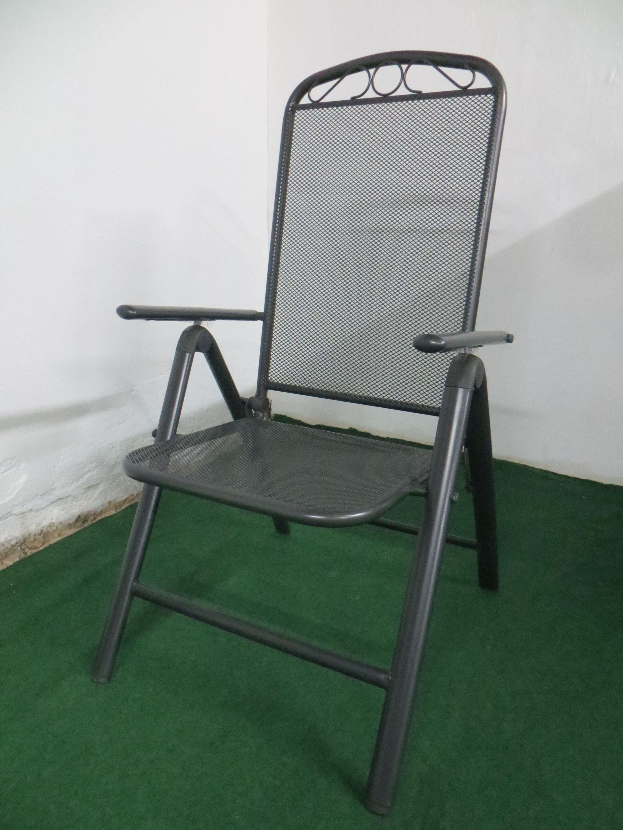 p27 gartenm bel sitzgarnitur 150x90cm 7 teilig grau. Black Bedroom Furniture Sets. Home Design Ideas