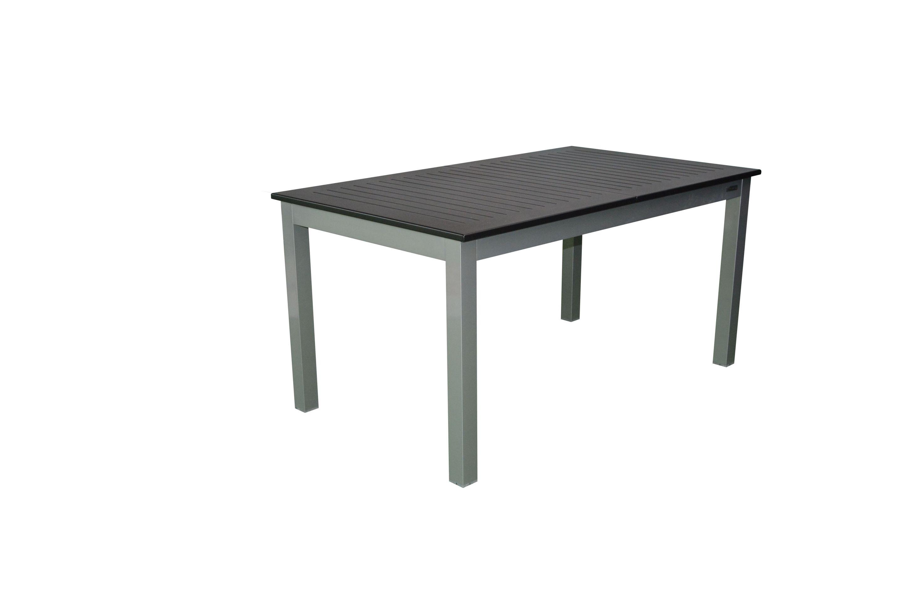 palu alu gartenm bel set sitzgarnitur 11tlg silber schwarz gartenm bel gruppen garten. Black Bedroom Furniture Sets. Home Design Ideas