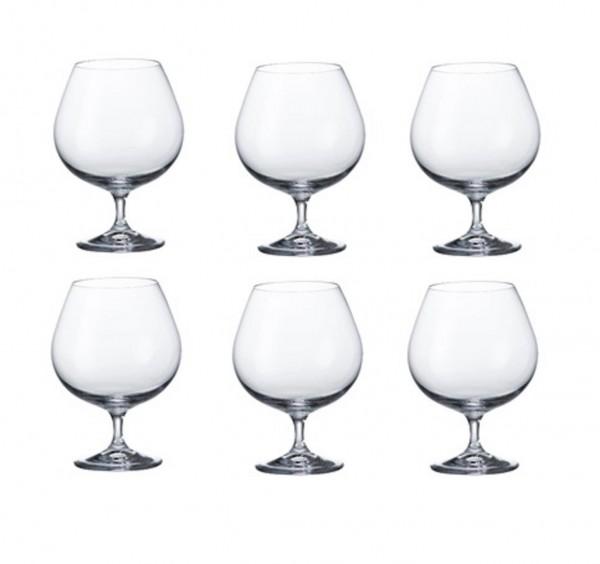 SERIE MARTINA 6er-Set Weinbrand-Gläser à 400 ml