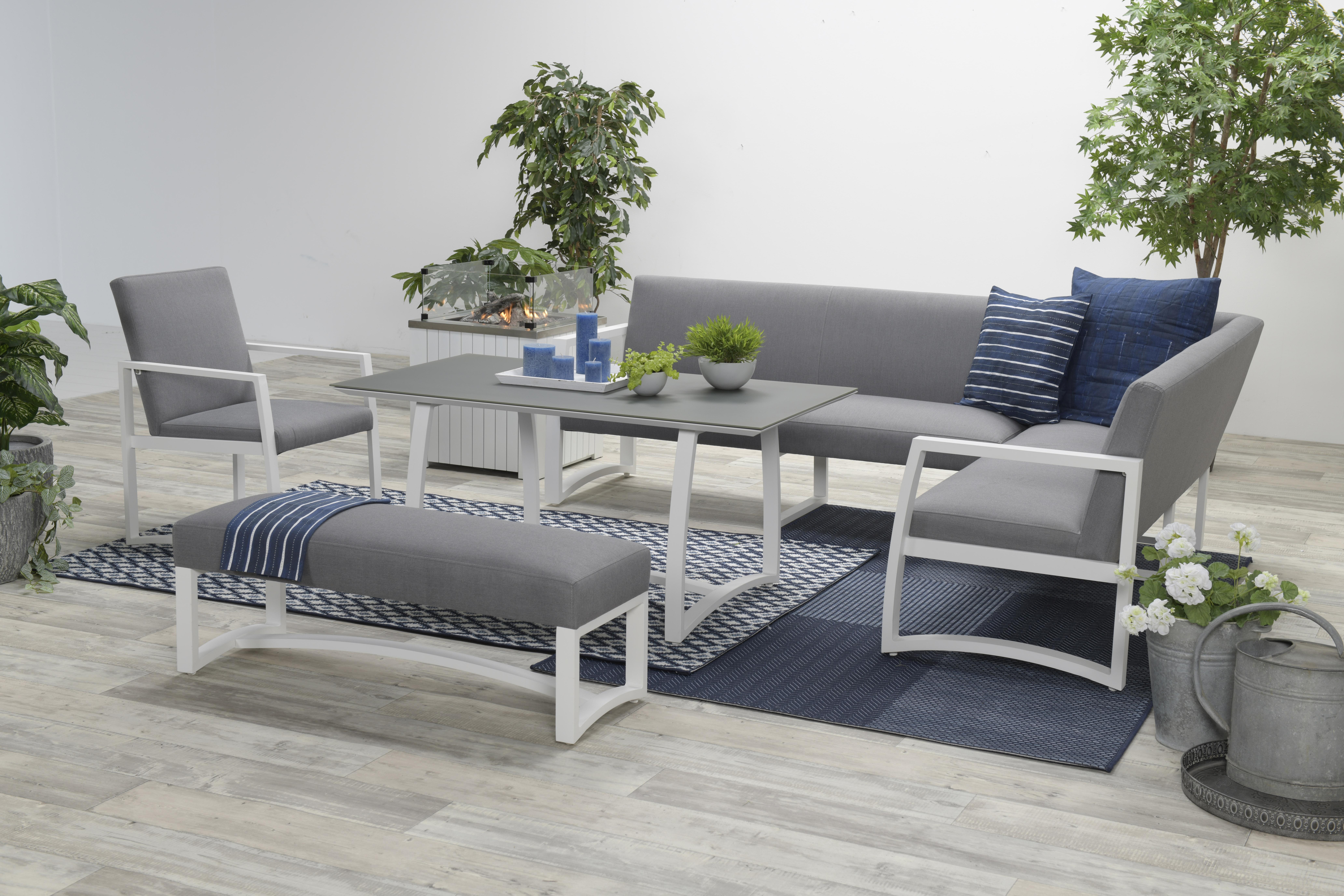 aureum allweather alu ecklounge gartenm bel sitzgruppe. Black Bedroom Furniture Sets. Home Design Ideas