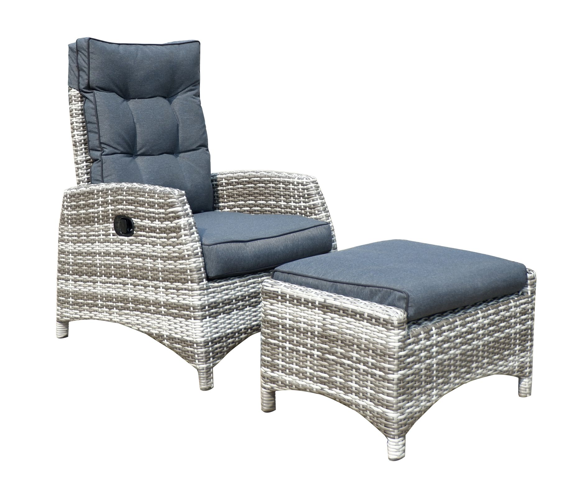 skara polyrattan lounge gartenm bel sitzgruppe silverline. Black Bedroom Furniture Sets. Home Design Ideas