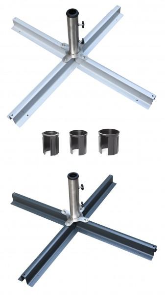 Plattenständer für Sonnenschirme - inkl. Reduzierringe ( MG )