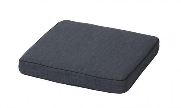 Loungekissen Auflage Melange Outdoor 60x60cm grau