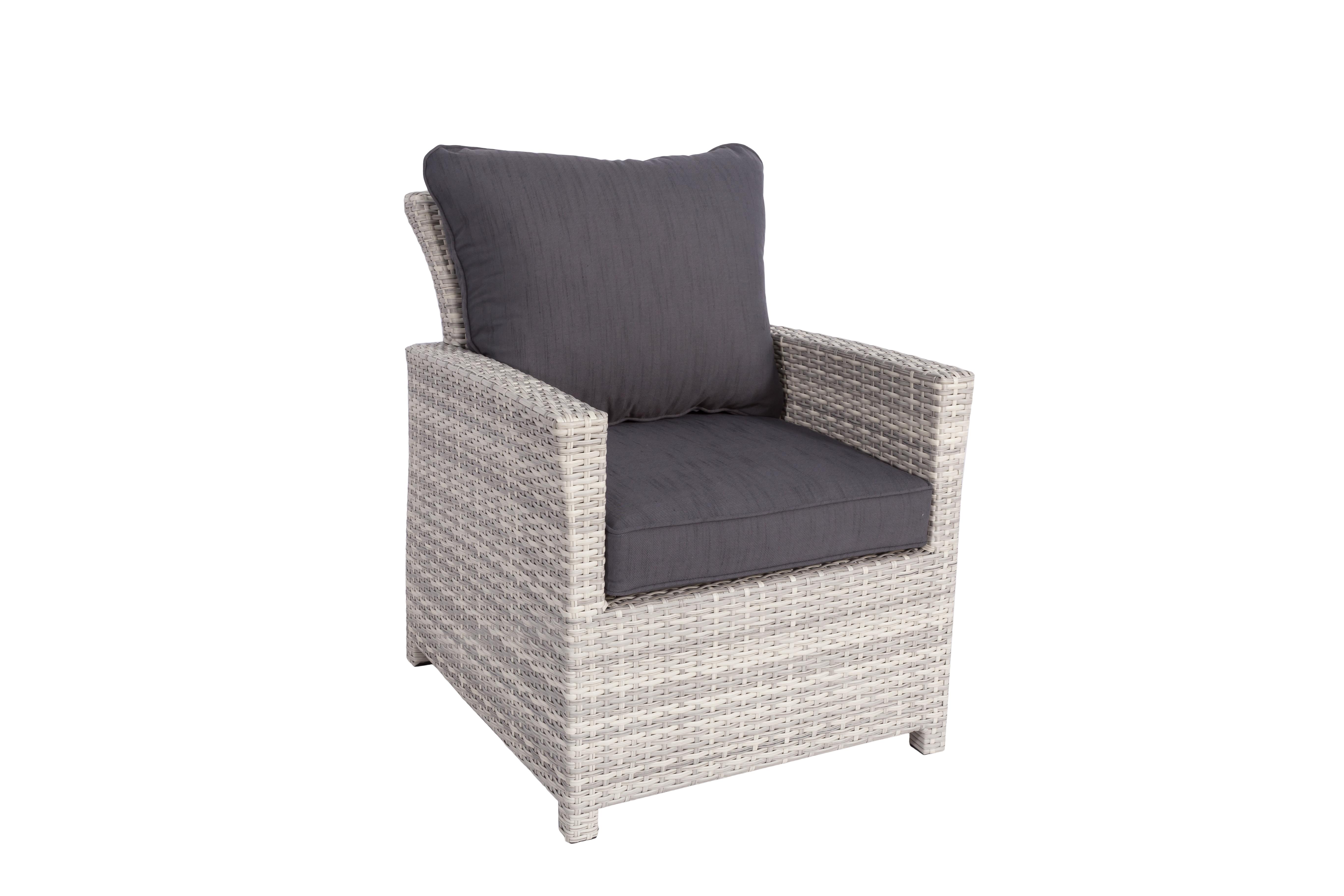 parla xl polyrattan ecklounge gartenm bel set wei grau lounge m bel garten. Black Bedroom Furniture Sets. Home Design Ideas