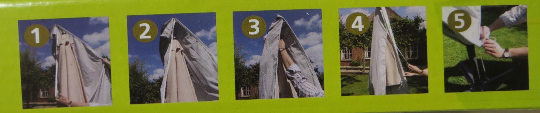 Xxl Schutzhulle Mit Stab Fur Ampel Sonnenschirme 2 Schutzhullen