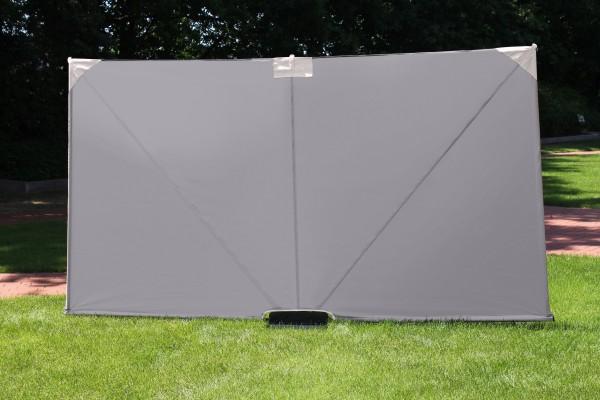 STELLWAND Sichtschutz Trennwand Windschutz 300x160cm grau (56010)