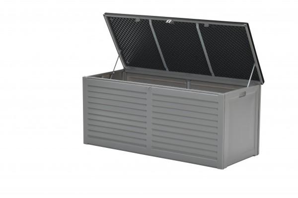 JERSEY Auflagenbox Kissenbox Aufbewahrungsbox grau 490L