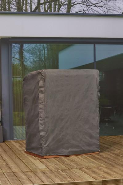 Schutzhülle für Strandkörbe Gartenmöbel Hülle 105-150cm Breite