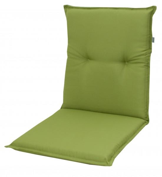 7836 Niederlehner Gartenstuhl Auflage 8cm niedrig grün uni