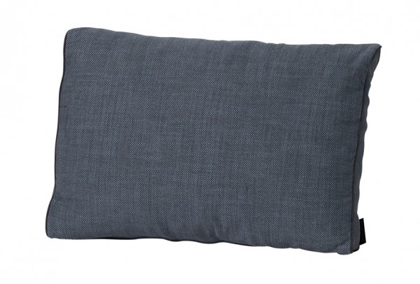 Loungekissen Auflage Melange Outdoor 60x40cm grau