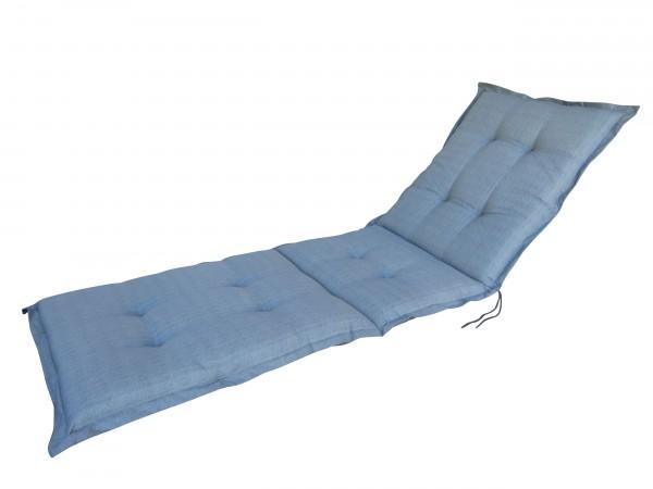 A046 Rollliegenauflage Gartenliege Auflage 190x60x8cm grau