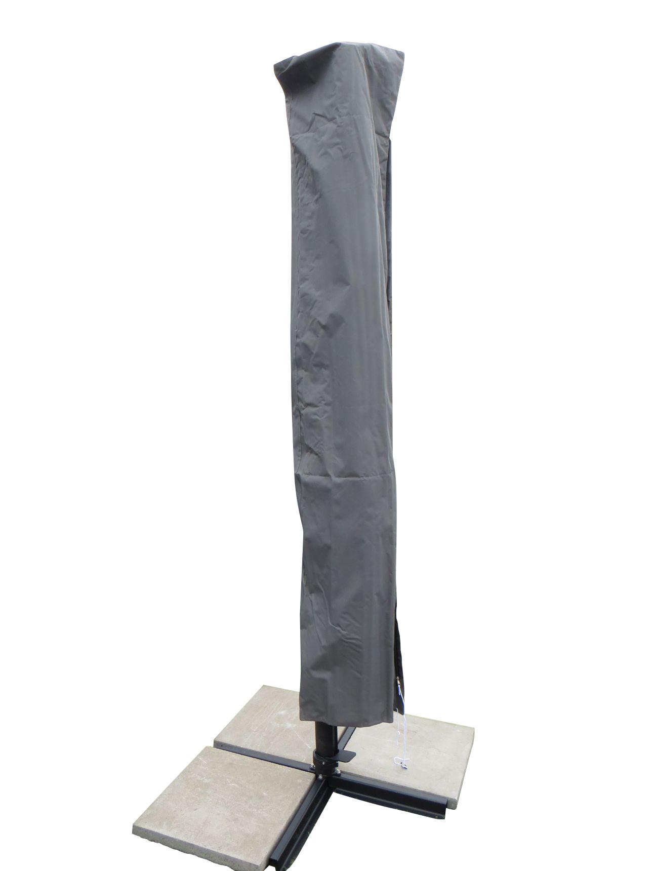 xxl schutzh lle mit stab f r ampel sonnenschirme 2 schutzh llen garten gartenm bel. Black Bedroom Furniture Sets. Home Design Ideas
