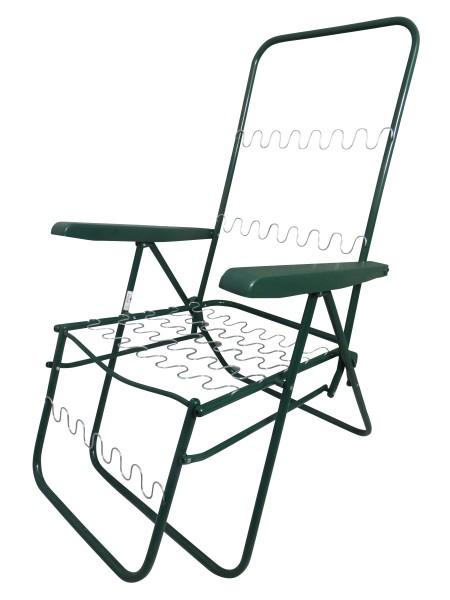 Relaxsessel Gestell - verstellbarer und klappbarer Campingsessel