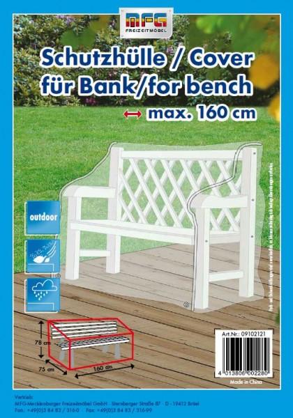 Schutzhülle für Gartenbänke 150x78x75cm