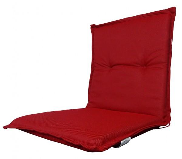 8028 Niederlehner Gartenstuhl Auflage niedrig 100x50x6cm rot