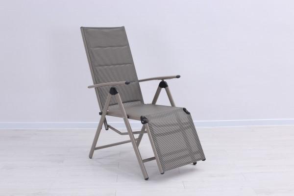 BOLERO PADDED Relaxsessel Liegestuhl verstellbar& klappbar Gartenstühle Garten  ~ 18031819_Liegestuhl Mehrfach Verstellbar