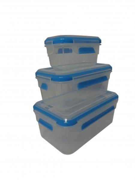 KLIPFRESH 6er-Set Frischhaltedosen Gefrierdosen BPA frei (80910)