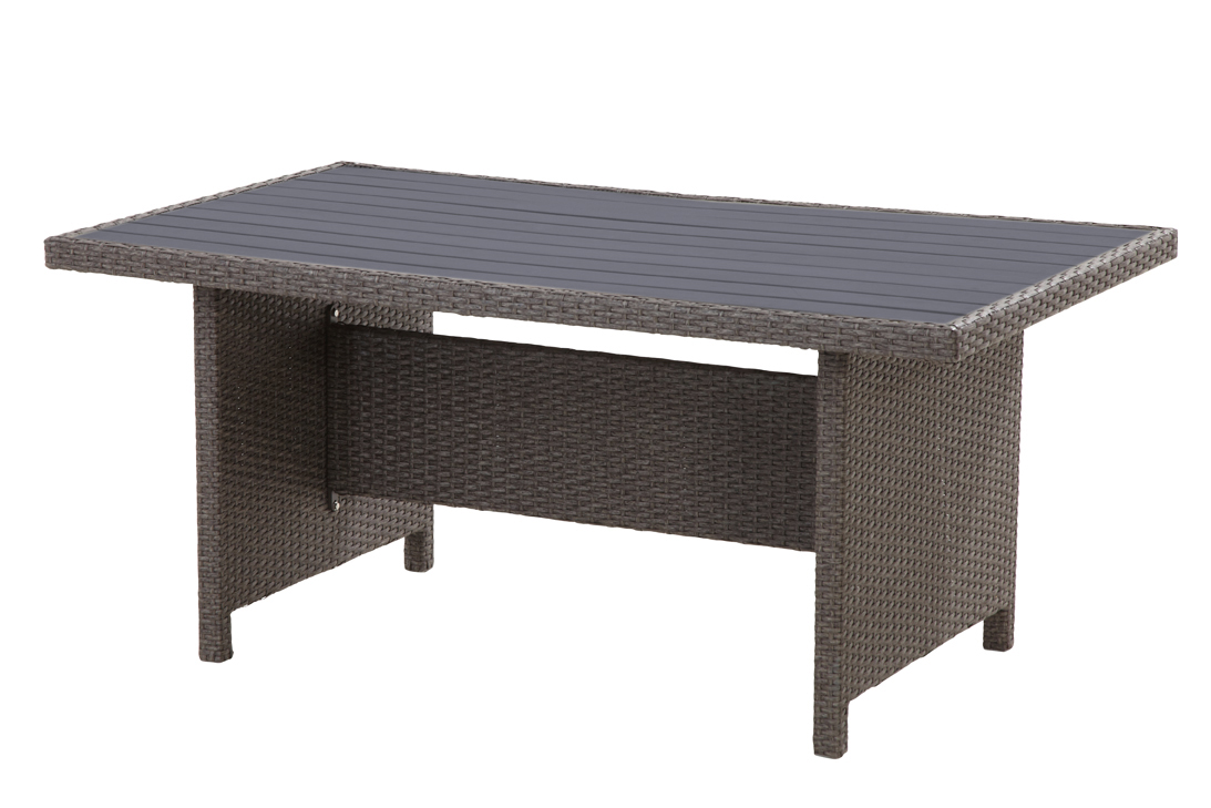 havanna polyrattan ecklounge garten sitzgruppe links taupe lounge m bel garten. Black Bedroom Furniture Sets. Home Design Ideas